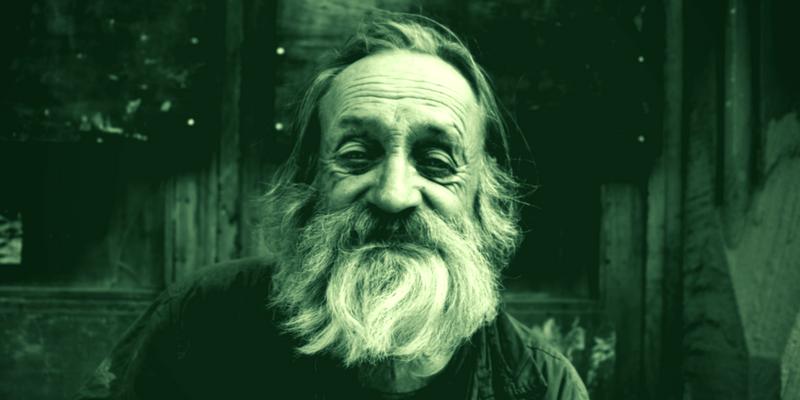 Bild von altem Mann